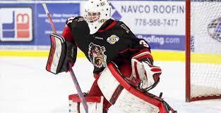 BCHL Hockey : Goaltending Depth Charts