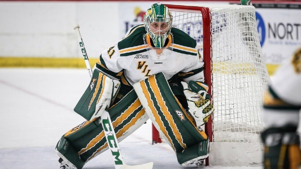 NCAA GOALTENDING DEPTH CHARTS